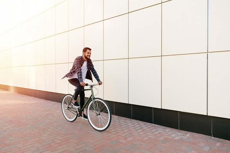 transporte público bicicleta